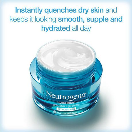Neutrogena Hydro Boost Facial Gel Cream, Hyaluronic Acid for Extra Dry Skin - image 8 of 8