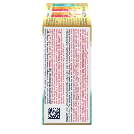 Nicoderm Clear Step 1 Patches, Nicotine Transdermal Patch, 21mg/day - image 7 of 8