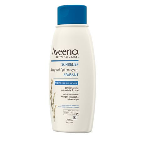 aveeno active naturals gel nettoyant apaisant non parfum pour la peau s che et sensible. Black Bedroom Furniture Sets. Home Design Ideas