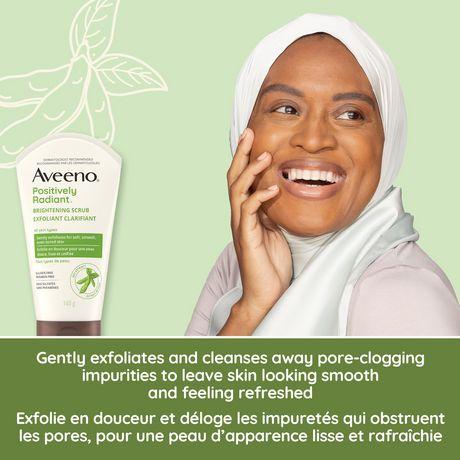 Skin Radiant Quotidien Exfoliant Aveeno Positively Clarifiant cuJK1FTl3