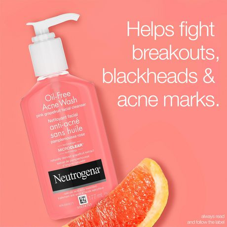 Neutrogena Oil Free Acne Cleanser, 177mL - image 6 of 8