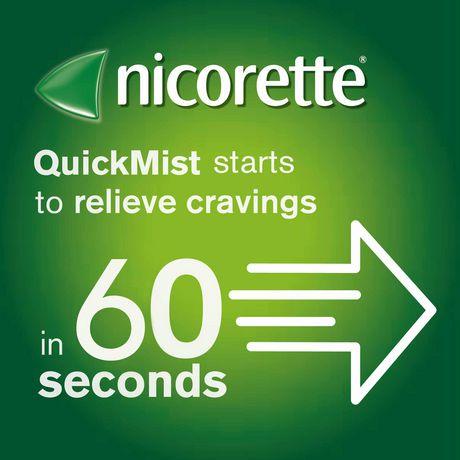 Vaporisateur Nicorette  VapoÉclair, Menthe fraîche, 1 mg,  Aide pour cesser de fumer et Aide de renoncement au tabac, 150 vaporisations - image 4 de 8