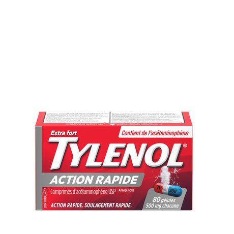 Tylenol Extra Strength Gelcaps, 500mg - image 2 of 9