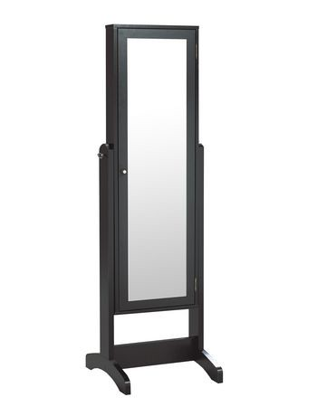 armoire bijoux avec miroir de brassex walmart canada. Black Bedroom Furniture Sets. Home Design Ideas