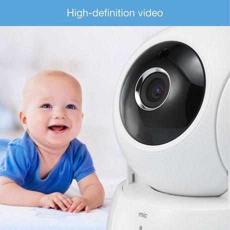 Moniteur vidéo HD sans fil VM991 de Vtech à panoramique et inclinaison - image 4 de 9