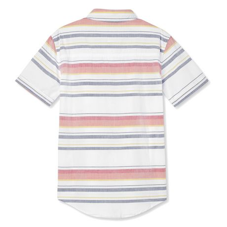 Chemise tissée à manches courtes George pour garçons - image 2 de 2