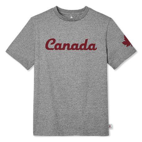 Canadiana Boys' Short Sleeve Crew Neck T-Shirt - image 1 of 2