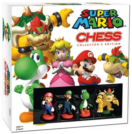 Super Mario Chess Board Game - English - image 1 of 2