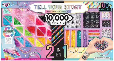 Fashion Angels Tell Your Story Bead Super Set