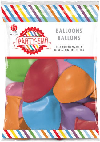 Balloons And Streamers Walmart Canada