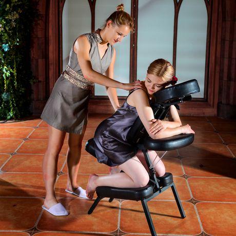 Chaise de massage portative meuble de salon contemporain - Chaise de massage pliante ...