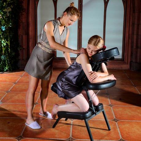 ensemble de chaise de massage portative apollo de master massage couleur noire walmart canada. Black Bedroom Furniture Sets. Home Design Ideas