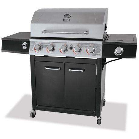 Backyard Grill Freeport, 5 Burner Propane Gas Grill (can ...