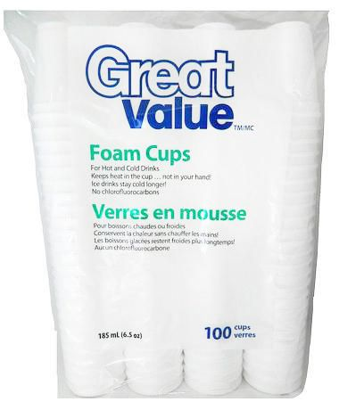 Verres en mousse Great Value - 6,5oz - image 1 de 1
