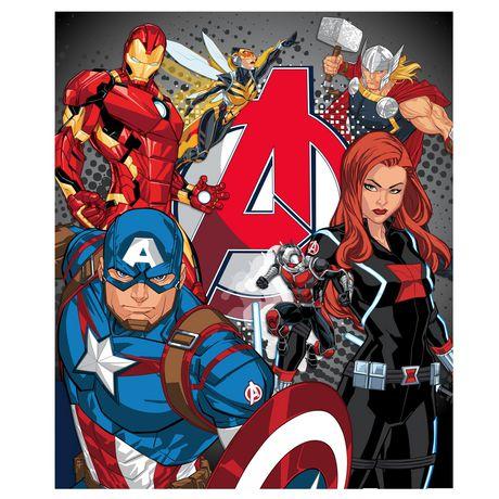 a72558cbc46 Jeté en micro peluche Avengers - image 1 de 1 ...