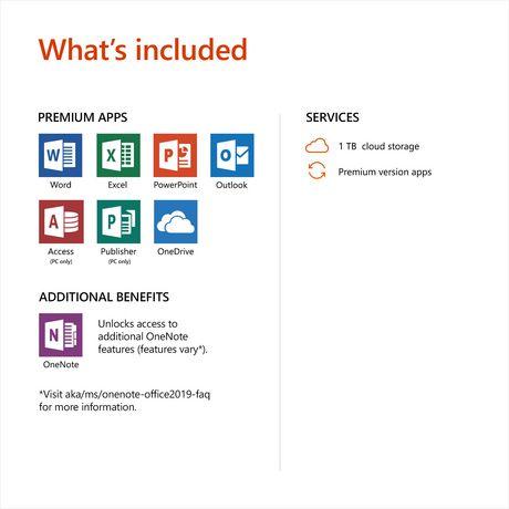 Microsoft Office 365 Home 2019 Bilingual [Download]