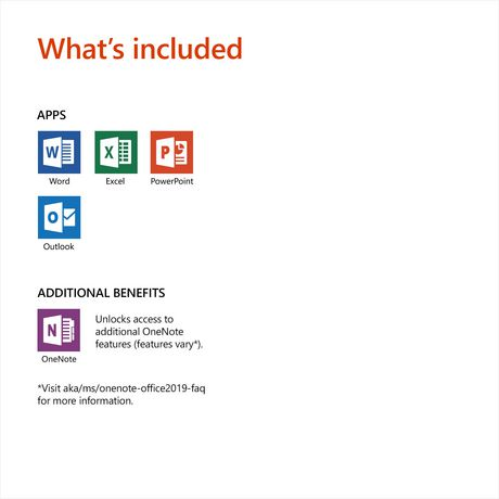 Microsoft Office Home & Business 2019 Bilingual [Download]