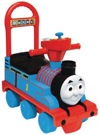 Voiturette actionnée locomotive à vapeur de Thomas et ses amis - image 1 de 3