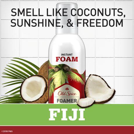 Nettoyant pour le corps Old Spice Fiji pour hommes avec parfum de palmier - image 5 de 6