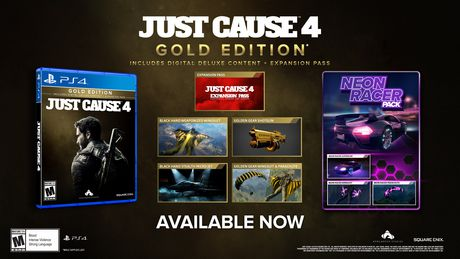 Just Cause 4 Gold Edition (PS4) - image 2 de 9