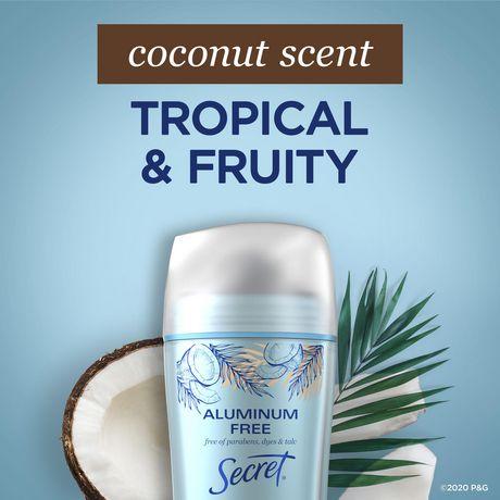 Secret Aluminum Free Deodorant Coconut - image 7 of 9