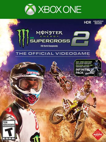 Monster Energy Supercross – The Official Videogame 2 Day One Edition (Xbox  One)