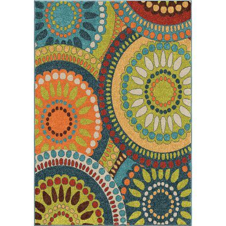 Tapis décoratif Merrifield Collage d'Orian Rugs - image 2 de 2