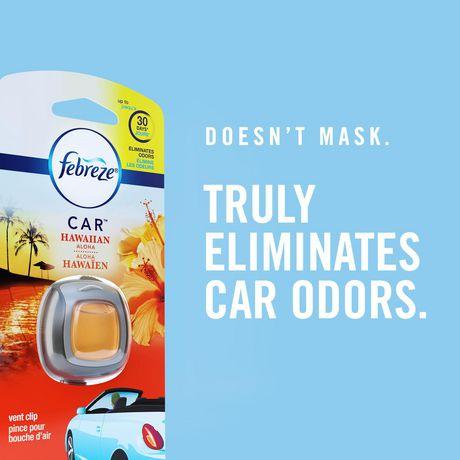 Assainisseurs d'air sous forme de pinces pour bouche d'air Febreze CAR, parfum Platinum Ice - image 5 de 6