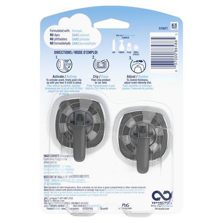 Febreze Car Air Freshener, Gain Original - image 2 of 6