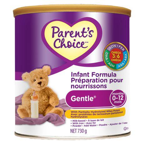 Parent's Choice Milk Based Gentle Infant Formula 730g - image 1 of 2
