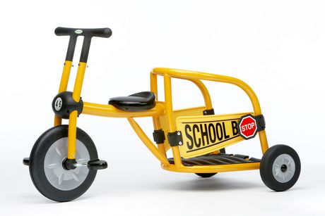Italtrike School Bus Tricycle - image 1 of 1