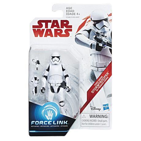 Star Wars - Figurine Force Link Stormtrooper du Premier Ordre - image 2 de 2
