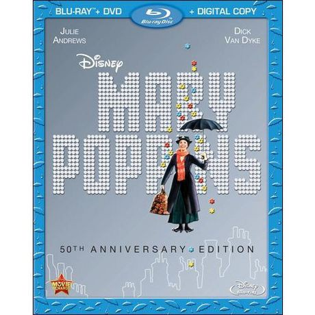 mary poppins 50th anniversary edition blu ray dvd digital copy