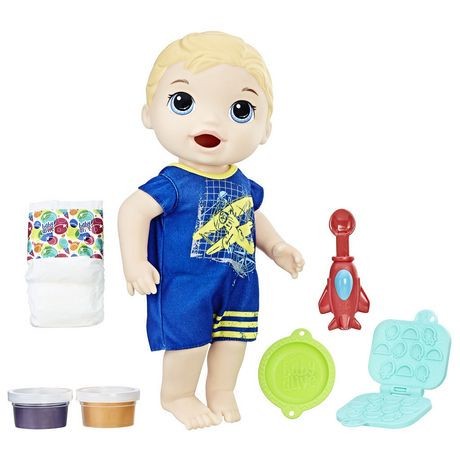 Baby Alive Super Snacks Snackin Luke Blonde Walmart