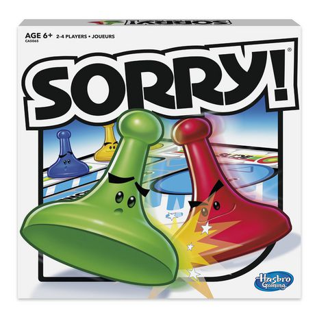 Hasbro Sorry! Game - image 1 of 2