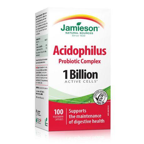 Jamieson Complexe Probiotique Acidophilus - 1 Milliard - image 1 de 4