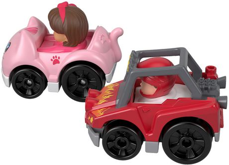 Little People Wheelies 2-Pack, Dune Racer & Koby - image 2 of 4