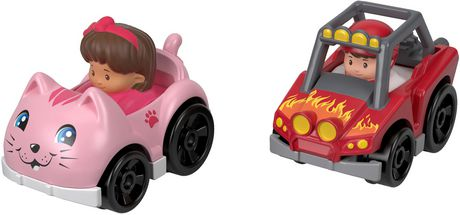 Little People Wheelies 2-Pack, Dune Racer & Koby - image 1 of 4