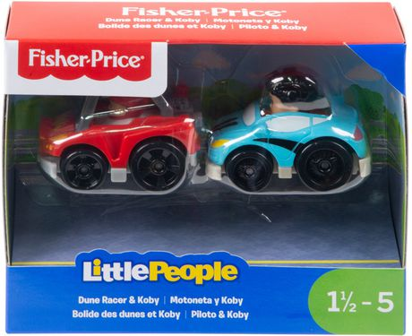 Little People Wheelies 2-Pack, Dune Racer & Koby - image 4 of 4