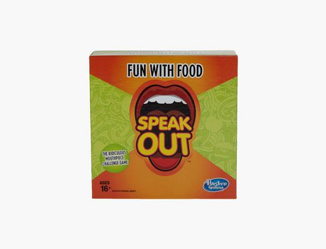 Hasbro Gaming Speak Out Expansion Pack: Fun with Food - image 1 of 3