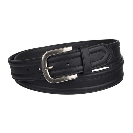 Dickies Mens Big and Tall Casual Leather Belt