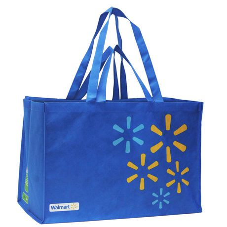 Walmart Large Format Reusable Shopping Bag | Walmart.ca