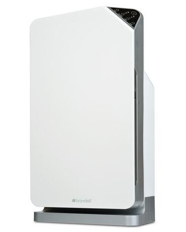 Brondell Purificateur d'air O2+ Balance avec technologies certifiées « True HEPA » et au charbon activé granulaire, blanc - image 3 de 7