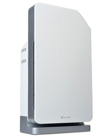 Brondell Purificateur d'air O2+ Balance avec technologies certifiées « True HEPA » et au charbon activé granulaire, blanc - image 2 de 7