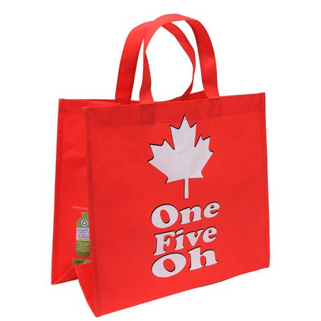 4ee6f111e16d Travelway Group International Travelway 150th Canada Day Red Reusable  Shopping Bag - image 1 of 3 ...