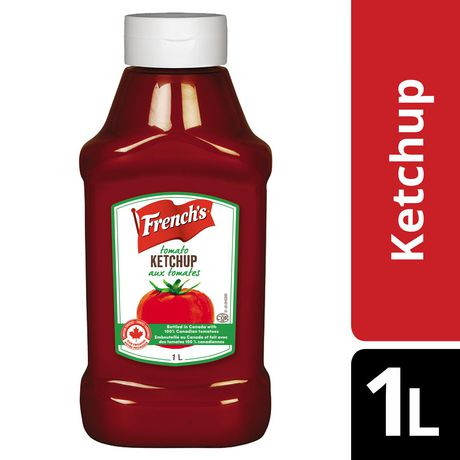French's, Tomato Ketchup, 1L - image 1 of 2