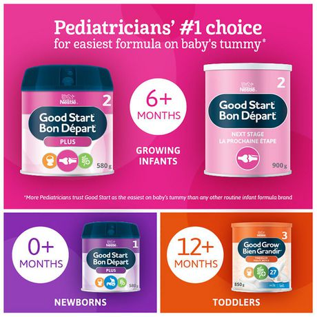 NESTLÉ® GOOD START® PLUS 2 Baby Formula, Powder  - New Look - image 3 of 7