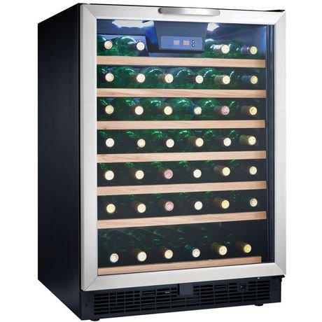 Danby Designer 5 3 Cu Ft 50 Bottle Free Standing Wine