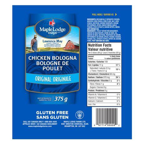 Maple Lodge Farms® Original Chicken Bologna - image 2 of 2