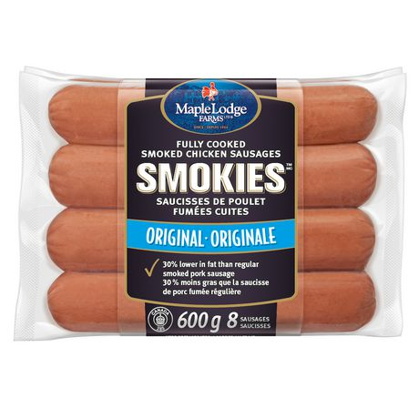 Maple Lodge Farms® Original Chicken Smokies - image 1 of 4